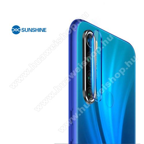 SUNSHINE Hydrogel TPU kameravédő fólia - Ultra Clear, ÖNREGENERÁLÓ! - 1db - Xiaomi Redmi Note 8 / Xiaomi Redmi Note 8T - GYÁRI