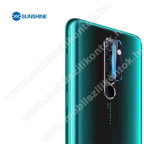 SUNSHINE Hydrogel TPU kameravédő fólia - Ultra Clear, ÖNREGENERÁLÓ! - 1db - Xiaomi Redmi Note 8 Pro - GYÁRI