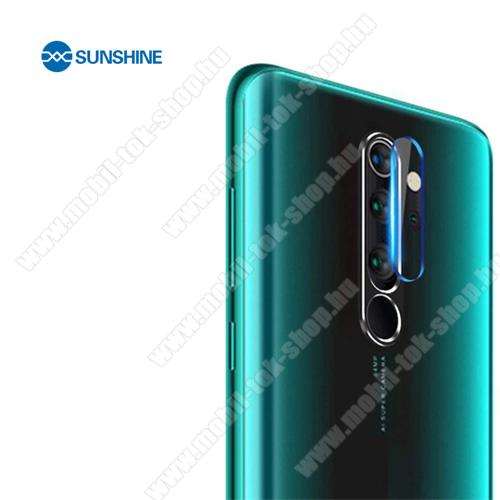 SUNSHINE Hydrogel TPU kameravédő fólia - Ultra Clear - 1db - Xiaomi Redmi Note 8 Pro - GYÁRI