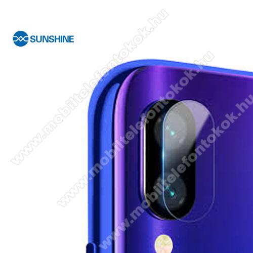 SUNSHINE Hydrogel TPU kameravédő fólia - Ultra Clear, ÖNREGENERÁLÓ! - 1db - Xiaomi Redmi Note 7 / Xiaomi Redmi Note 7 Pro / Xiaomi Redmi Note 7S - GYÁRI