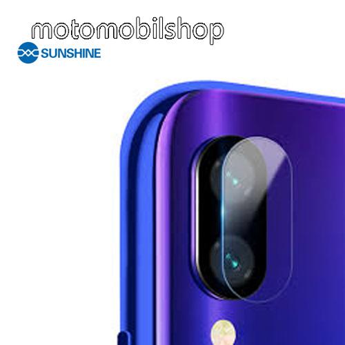 SUNSHINE Hydrogel TPU kameravédő fólia - Ultra Clear - 1db - Xiaomi Redmi Note 7 / Xiaomi Redmi Note 7 Pro / Xiaomi Redmi Note 7S - GYÁRI