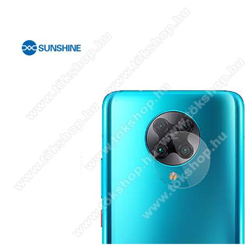 SUNSHINE Hydrogel TPU kameravédő fólia - Ultra Clear, ÖNREGENERÁLÓ! - 1db - Xiaomi Redmi K30 Pro / Xiaomi Redmi K30 Pro Zoom / Xiaomi Poco F2 Pro - GYÁRI