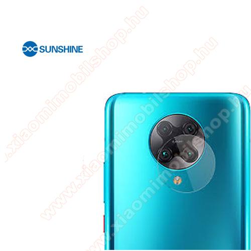 Xiaomi Poco F2 ProSUNSHINE Hydrogel TPU kameravédő fólia - Ultra Clear - 1db - Xiaomi Redmi K30 Pro / Xiaomi Redmi K30 Pro Zoom / Xiaomi Poco F2 Pro - GYÁRI