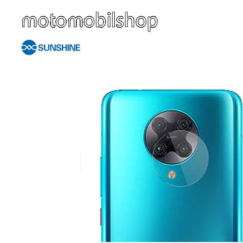 SUNSHINE Hydrogel TPU kameravédő fólia - Ultra Clear - 1db - Xiaomi Redmi K30 Pro / Xiaomi Redmi K30 Pro Zoom / Xiaomi Poco F2 Pro - GYÁRI