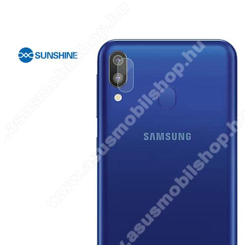 SUNSHINE Hydrogel TPU kameravédő fólia - Ultra Clear, ÖNREGENERÁLÓ! - 1db - SAMSUNG Galaxy A20 (SM-A205F) - GYÁRI