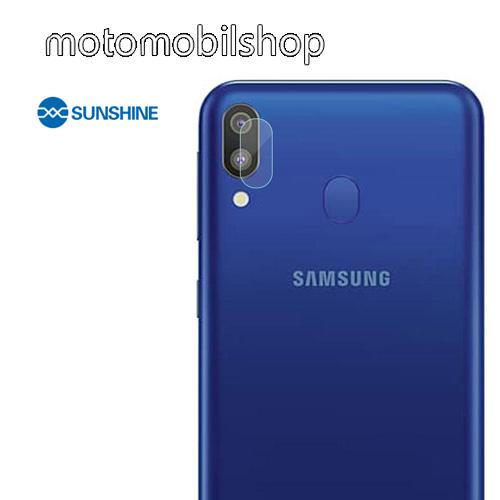 SUNSHINE Hydrogel TPU kameravédő fólia - Ultra Clear - 1db - SAMSUNG Galaxy A20 (SM-A205F) - GYÁRI