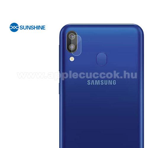 SUNSHINE Hydrogel TPU kameravédő fólia - Ultra Clear, ÖNREGENERÁLÓ! - 1db - SAMSUNG Galaxy A30 (SM-A305F) - GYÁRI