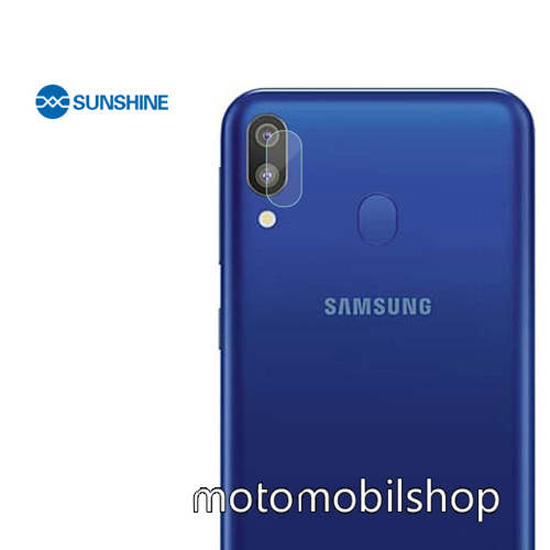 SUNSHINE Hydrogel TPU kameravédő fólia - Ultra Clear - 1db - SAMSUNG Galaxy A30 (SM-A305F) - GYÁRI