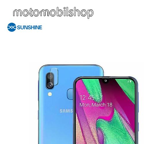 SUNSHINE Hydrogel TPU kameravédő fólia - Ultra Clear - 1db - SAMSUNG Galaxy A40 (SM-A405F) - GYÁRI