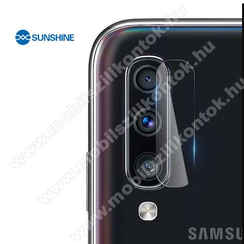 SUNSHINE Hydrogel TPU kameravédő fólia - Ultra Clear, ÖNREGENERÁLÓ! - 1db - SAMSUNG Galaxy A70 (SM-A705F/SM-A705FN) - GYÁRI