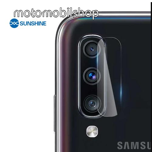 SUNSHINE Hydrogel TPU kameravédő fólia - Ultra Clear - 1db - SAMSUNG Galaxy A70 (SM-A705F/SM-A705FN) - GYÁRI
