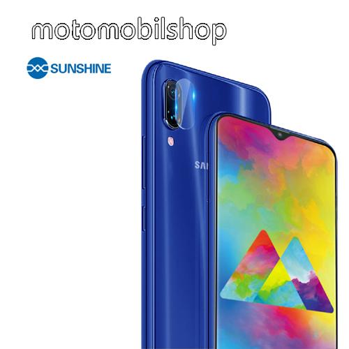 SUNSHINE Hydrogel TPU kameravédő fólia - Ultra Clear - 1db - SAMSUNG Galaxy M20 (SM-M205F) - GYÁRI