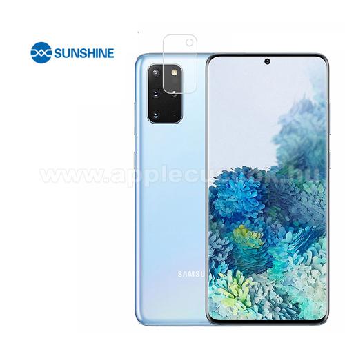 SUNSHINE Hydrogel TPU kameravédő fólia - Ultra Clear, ÖNREGENERÁLÓ! - 1db - SAMSUNG Galaxy S20 (SM-G980F) / SAMSUNG Galaxy S20 5G (SM-G981) - GYÁRI