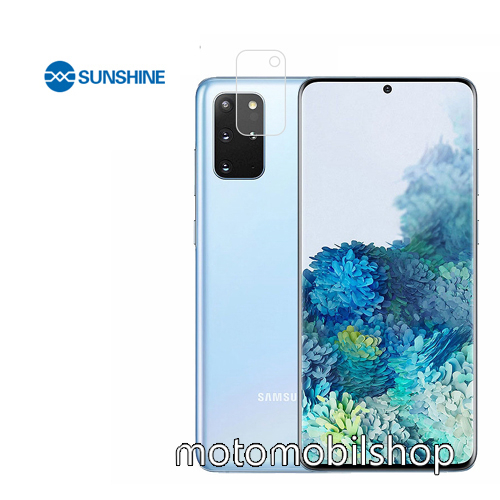 SUNSHINE Hydrogel TPU kameravédő fólia - Ultra Clear, ÖNREGENERÁLÓ! - 1db - SAMSUNG Galaxy S20 Plus (SM-G985F) / SAMSUNG Galaxy S20 Plus 5G (SM-G986) - GYÁRI