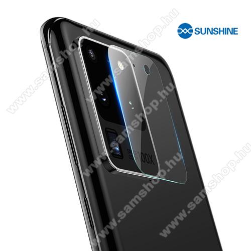 SAMSUNG Galaxy S20 Ultra (SM-G988F/B)SUNSHINE Hydrogel TPU kameravédő fólia - Ultra Clear, ÖNREGENERÁLÓ! - 1db - SAMSUNG Galaxy S20 Ultra (SM-G988F) / SAMSUNG Galaxy S20 Ultra 5G (SM-G988) - GYÁRI