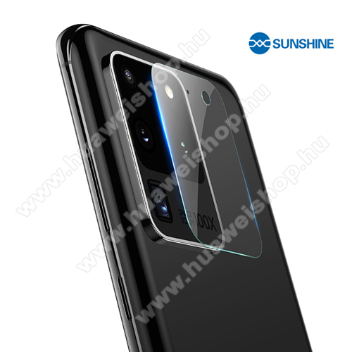 SUNSHINE Hydrogel TPU kameravédő fólia - Ultra Clear, ÖNREGENERÁLÓ! - 1db - SAMSUNG Galaxy S20 Ultra (SM-G988F) / SAMSUNG Galaxy S20 Ultra 5G (SM-G988) - GYÁRI