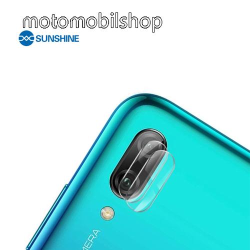 SUNSHINE Hydrogel TPU kameravédő fólia - Ultra Clear - 1db - HUAWEI Y6 (2019) - GYÁRI