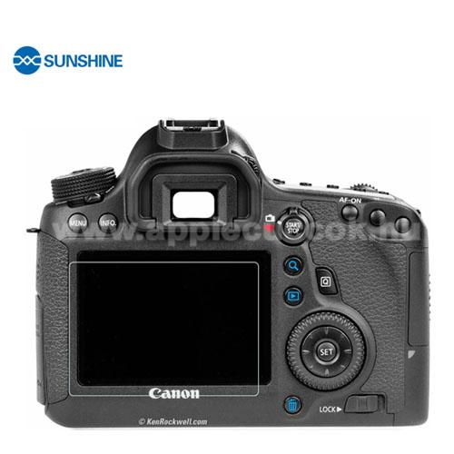 SUNSHINE Hydrogel TPU kameravédő fólia - Ultra Clear, ÖNREGENERÁLÓ! - 1db, a kijelzőt védi - Canon EOS 6D - GYÁRI