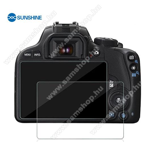 SUNSHINE Hydrogel TPU kameravédő fólia - Ultra Clear, ÖNREGENERÁLÓ! - 1db, a kijelzőt védi - Canon EOS M3 / M5 / M10 / 100D / G1 X Mark II - GYÁRI
