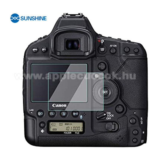 SUNSHINE Hydrogel TPU kameravédő fólia - Ultra Clear, ÖNREGENERÁLÓ! - 1db, a kijelzőt védi - Canon EOS 1D X Mark II - GYÁRI