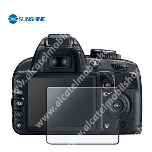 SUNSHINE Hydrogel TPU kameravédő fólia - Ultra Clear - 1db, a kijelzőt védi - Nikon D3100 / D3200 - GYÁRI