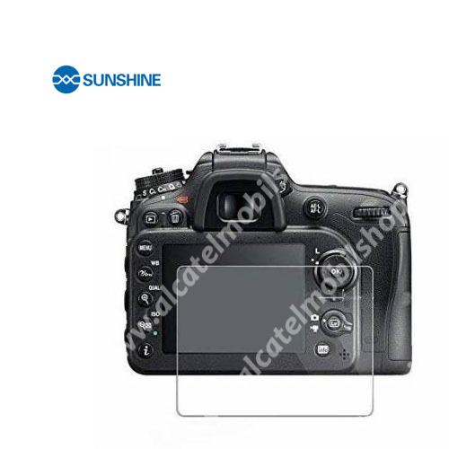 SUNSHINE Hydrogel TPU kameravédő fólia - Ultra Clear - 1db, a kijelzőt védi - Nikon D3000 - GYÁRI