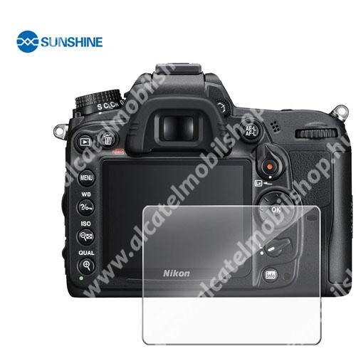 SUNSHINE Hydrogel TPU kameravédő fólia - Ultra Clear - 1db, a kijelzőt védi - Nikon D7000 / D300 / D90 / D700 - GYÁRI