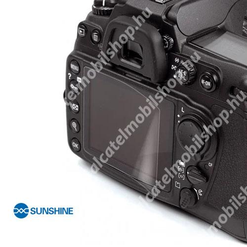 SUNSHINE Hydrogel TPU kameravédő fólia - Ultra Clear - 1db, a kijelzőt védi - Nikon D750 / D800 / D600 / D610 / D7100 / D7200 - GYÁRI