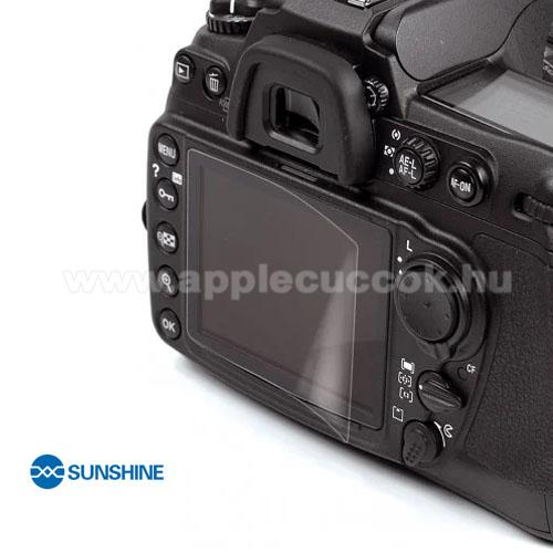 SUNSHINE Hydrogel TPU kameravédő fólia - Ultra Clear, ÖNREGENERÁLÓ! - 1db, a kijelzőt védi - Nikon D750 / D800 / D600 / D610 / D7100 / D7200 - GYÁRI