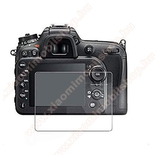 SUNSHINE Hydrogel TPU kameravédő fólia - Ultra Clear, ÖNREGENERÁLÓ! - 1db, a kijelzőt védi - Nikon D810 / D800 / D850 - GYÁRI