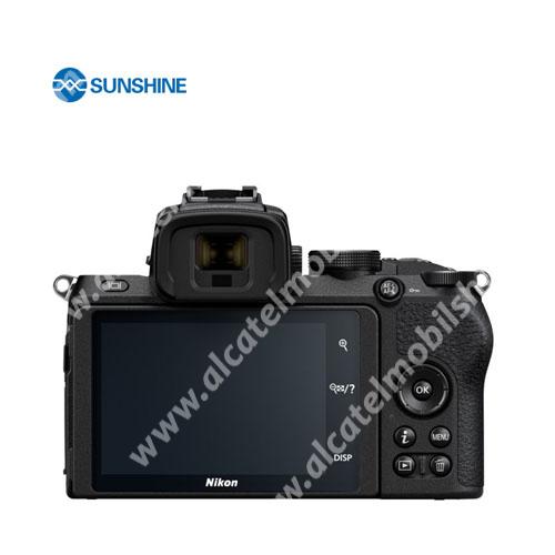 SUNSHINE Hydrogel TPU kameravédő fólia - Ultra Clear - 1db, a kijelzőt védi - Nikon Z5 - GYÁRI