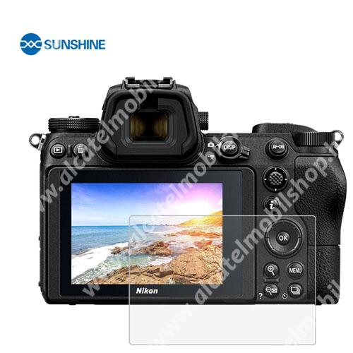 SUNSHINE Hydrogel TPU kameravédő fólia - Ultra Clear - 1db, a kijelzőt védi - Nikon Z6 / Z7 - GYÁRI