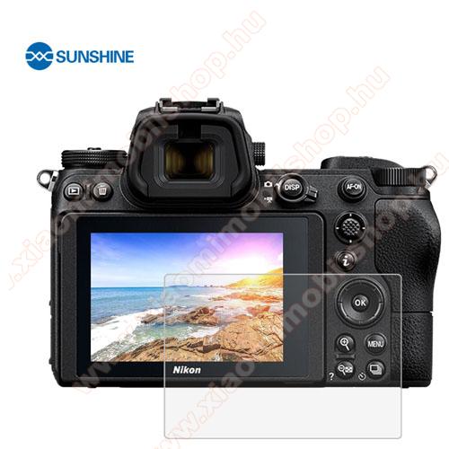 SUNSHINE Hydrogel TPU kameravédő fólia - Ultra Clear, ÖNREGENERÁLÓ! - 1db, a kijelzőt védi - Nikon Z6 / Z7 - GYÁRI