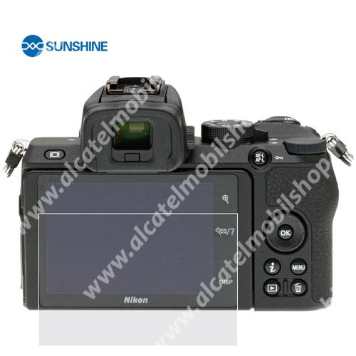 SUNSHINE Hydrogel TPU kameravédő fólia - Ultra Clear - 1db, a kijelzőt védi - Nikon Z50 - GYÁRI