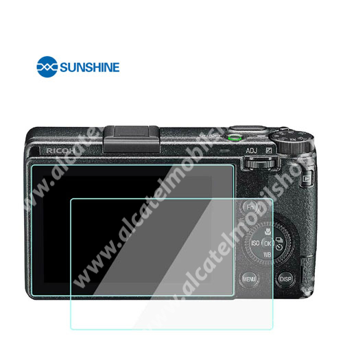 SUNSHINE Hydrogel TPU kameravédő fólia - Ultra Clear - 1db, a kijelzőt védi - Ricoh GR III - GYÁRI