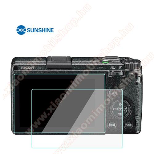 SUNSHINE Hydrogel TPU kameravédő fólia - Ultra Clear, ÖNREGENERÁLÓ! - 1db, a kijelzőt védi - Ricoh GR III - GYÁRI
