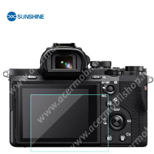 SUNSHINE Hydrogel TPU kameravédő fólia - Ultra Clear - 1db, a kijelzőt védi - Sony Alpha 7 III / Alpha 7 II / Alpha 7 / Alpha 9 / Alpha 9 II / RX10 / RX100  - GYÁRI