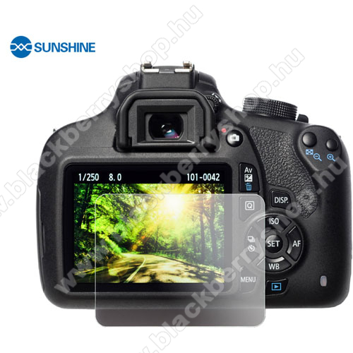 SUNSHINE Hydrogel TPU kameravédő fólia - Ultra Clear, ÖNREGENERÁLÓ! - 1db, a kijelzőt védi - Sony Alpha 6500 / Alpha 6300 / Alpha 6300 / Alpha 5100 / Alpha 5000 - GYÁRI