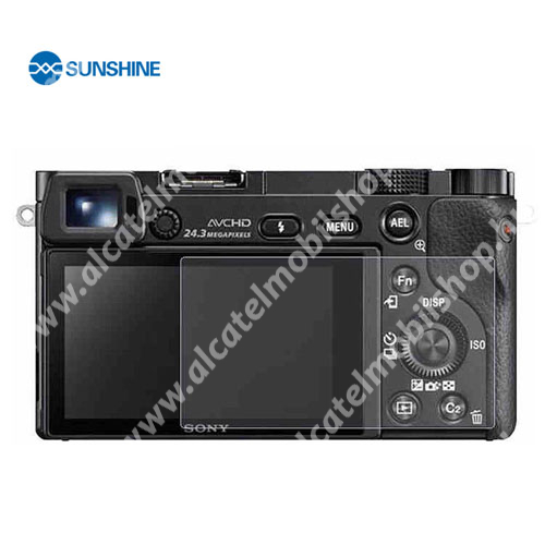 SUNSHINE Hydrogel TPU kameravédő fólia - Ultra Clear - 1db, a kijelzőt védi - Sony Alpha 6400 - GYÁRI