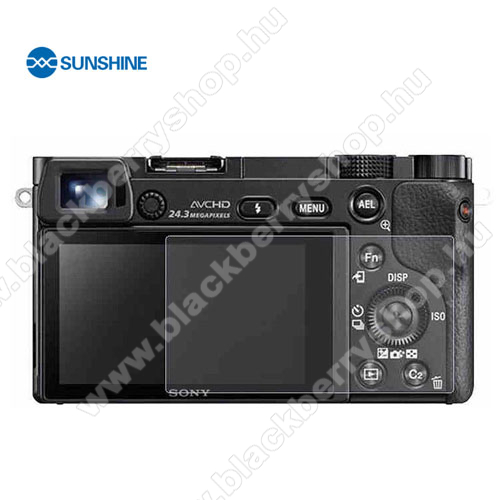 SUNSHINE Hydrogel TPU kameravédő fólia - Ultra Clear, ÖNREGENERÁLÓ! - 1db, a kijelzőt védi - Sony Alpha 6400 - GYÁRI