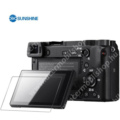 SUNSHINE Hydrogel TPU kameravédő fólia - Ultra Clear - 1db, a kijelzőt védi - Sony Alpha 6600 / Alpha 6100 - GYÁRI