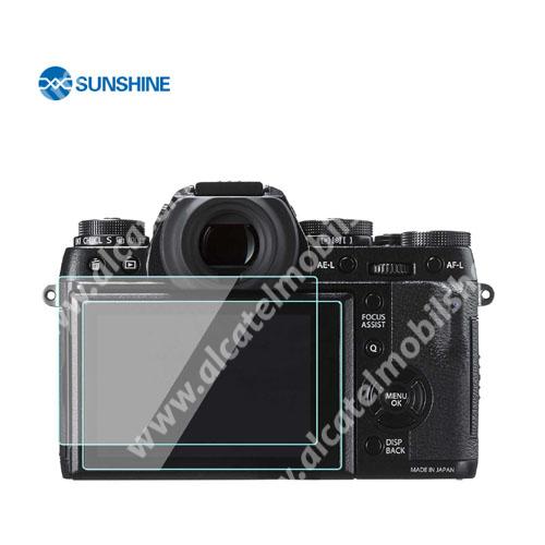SUNSHINE Hydrogel TPU kameravédő fólia - Ultra Clear - 1db, a kijelzőt védi - Fujifilm X-T3 - GYÁRI