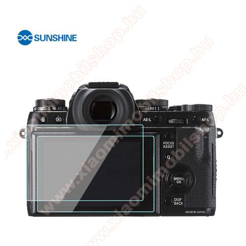 SUNSHINE Hydrogel TPU kameravédő fólia - Ultra Clear, ÖNREGENERÁLÓ! - 1db, a kijelzőt védi - Fujifilm X-T3 - GYÁRI