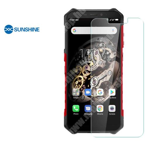 SUNSHINE Hydrogel TPU képernyővédő fólia - Ultra Clear, ÖNREGENERÁLÓ! - 1db, a teljes képernyőt védi - Ulefone Armor X5 - GYÁRI