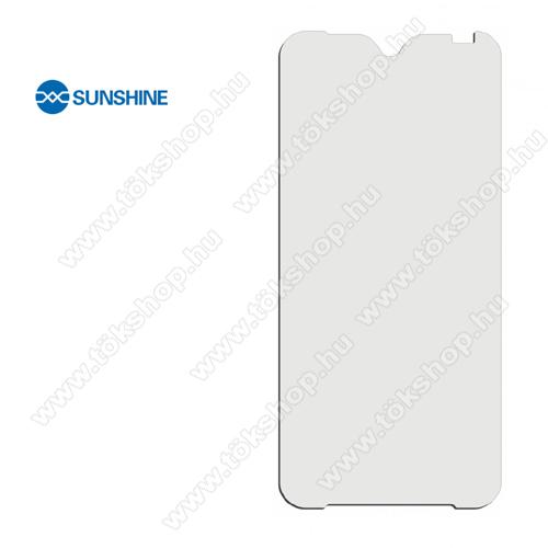 SUNSHINE Hydrogel TPU képernyővédő fólia - Ultra Clear, ÖNREGENERÁLÓ! - 1db, a teljes képernyőt védi - 1db - Evolveo Strongphone G9 - GYÁRI