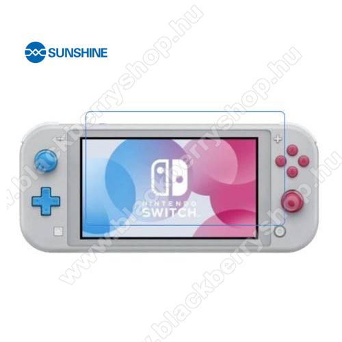 SUNSHINE Hydrogel TPU képernyővédő fólia - Ultra Clear, ÖNREGENERÁLÓ! - 1db - Nintendo Switch Lite - GYÁRI