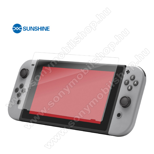 SUNSHINE Hydrogel TPU képernyővédő fólia - Ultra Clear, ÖNREGENERÁLÓ! - 1db - Nintendo Switch - GYÁRI