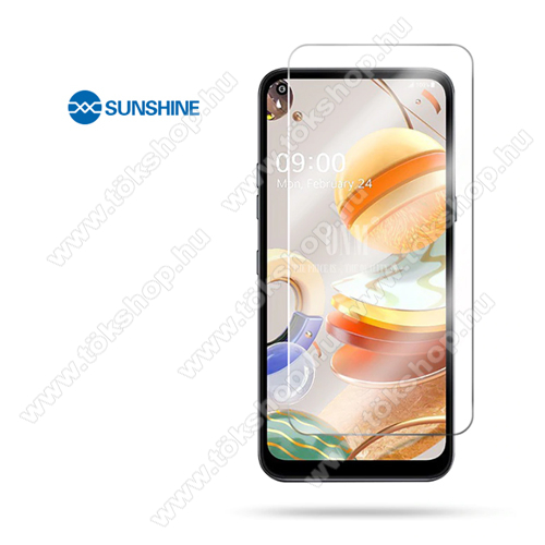 SUNSHINE Hydrogel TPU képernyővédő fólia - Ultra Clear - 1db, a teljes képernyőt védi, ÖNREGENERÁLÓ! - LG K51S / LG K61 - GYÁRI