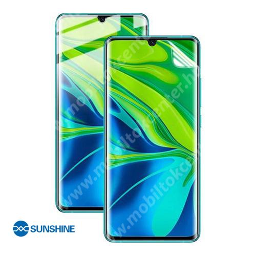 SUNSHINE Hydrogel TPU képernyővédő fólia - Ultra Clear, ÖNREGENERÁLÓ! - 1db, TOKBARÁT - Xiaomi Mi Note 10 / Xiaomi Mi Note 10 Pro / Xiaomi Mi CC9 Pro / Xiaomi Mi Note 10 Lite - GYÁRI