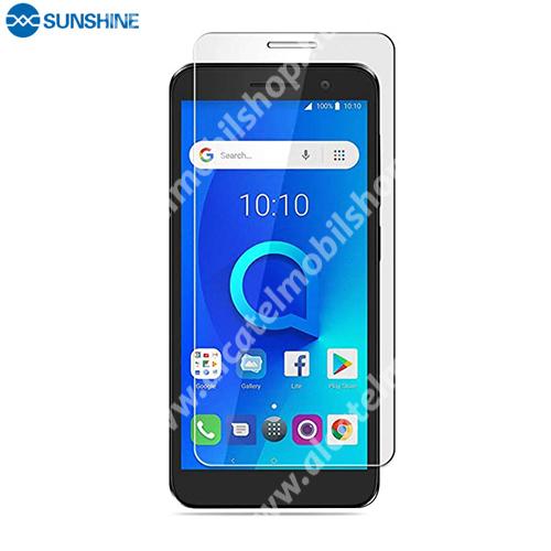SUNSHINE Hydrogel TPU képernyővédő fólia - Ultra Clear, ÖNREGENERÁLÓ! - 1db, a teljes képernyőt védi - Vodafone Smart E9 / ALCATEL 1 - GYÁRI